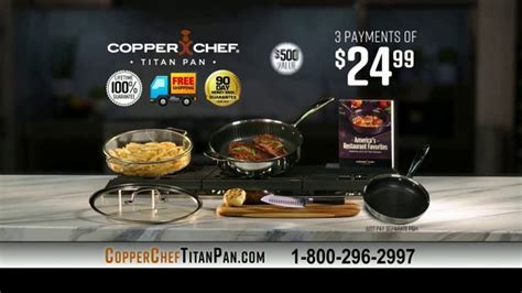 copper chef titan pan tv commercial exciting news ispottv