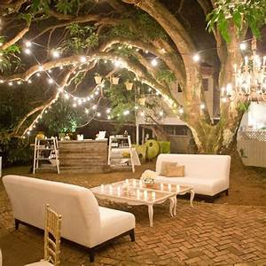 rustic woodland lounge reception area photographer With outdoor string lights edmonton