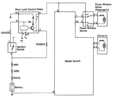 1993 toyota hilux power window system 1993 toyota hilux power window system