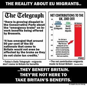 Jon Danzig's World: EU migrants are bringing benefits, not ...