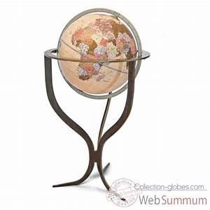 Globe Terrestre Sur Pied : globe terrestre zoffoli sur collection globes ~ Teatrodelosmanantiales.com Idées de Décoration