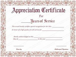 best 25 certificate of appreciation ideas on pinterest With employee anniversary certificate template