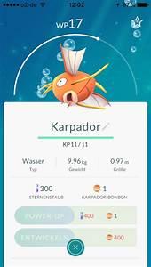 Pokemon Go Wp Berechnen : pok mon go wp kp cp was bedeuten die werte ~ Themetempest.com Abrechnung