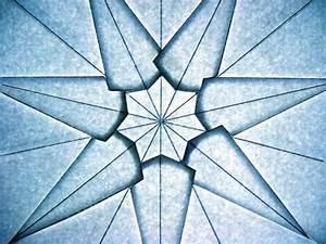 Heptagonal Star Crease Pattern  U2013 Origami Tessellations