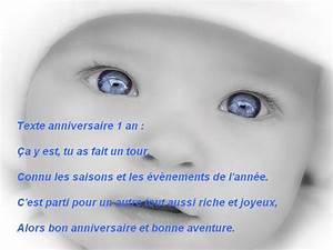 Texte Anniversaire 1 An Garçon : texte carte anniversaire fille 1 an ~ Melissatoandfro.com Idées de Décoration