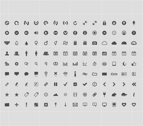 template of a resume 126 icon set icons fribly 25063 | EricBenjamin Icons preview