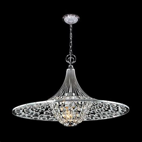 Moder Chandeliers by R Moder Excelsior Chrome 17 Quot Wide