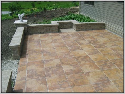 outdoor porcelain tile for patio patios home design