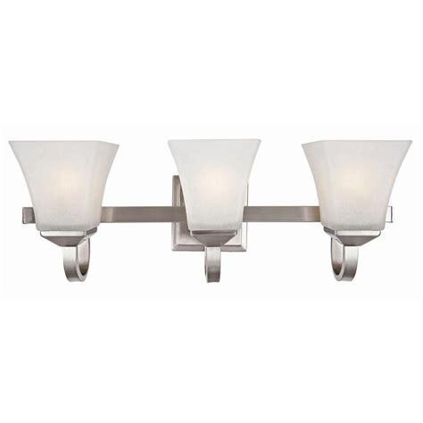 design house torino  light satin nickel vanity light