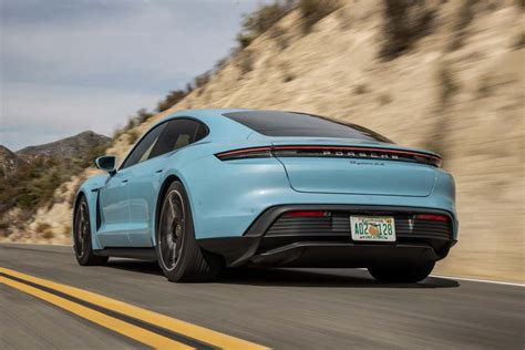 A Cheaper, RWD Porsche Taycan Is in the Works: Report ...