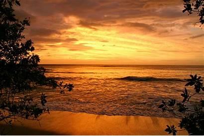 Beach Romantic Scenes Wallpapers Money Backgrounds Waves