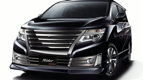 Nissan Elgrand Backgrounds by 2016 Nissan Elgrand E51 Pictures Information And