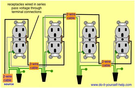 Wiring Diagram Receptacles Series Electrical Diy