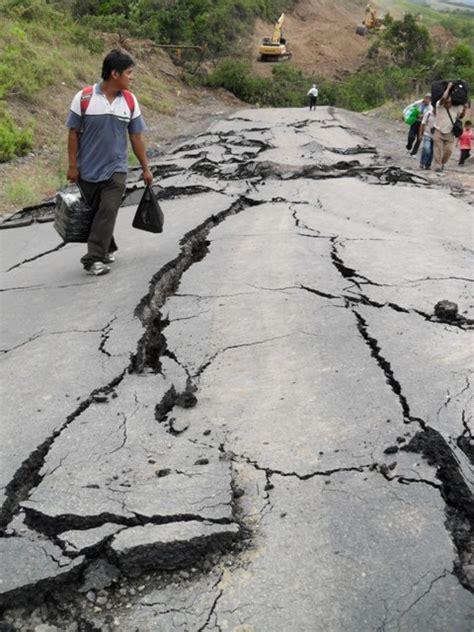 northern peru earthquake stuck  bagua