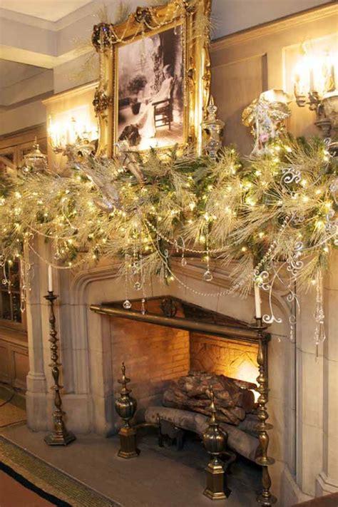 50 most beautiful christmas fireplace decorating ideas christmas celebrations