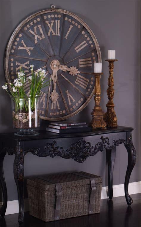 ideas  big clocks  pinterest wall clock