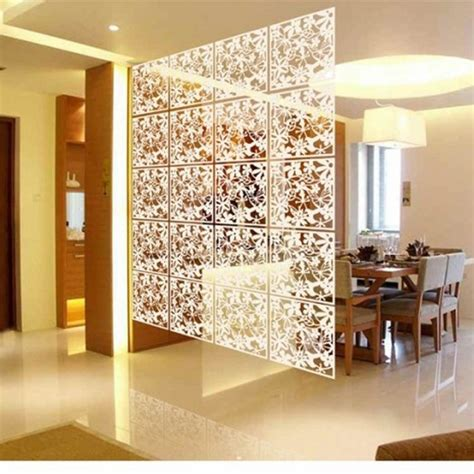 Folding Screen Room Divider Plastic Partitions Shield For