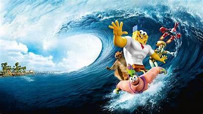 Spongebob Wallpapers Sponge Movies Water Iphone 1080p