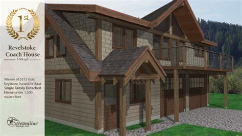 revelstoke coach house sqft streamline design