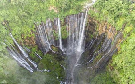 air terjun tumpak sewu sebagai niagaranya indonesia