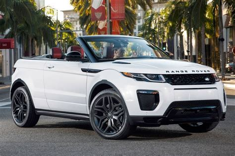 land rover suv 2017 land rover range rover evoque suv pricing for sale