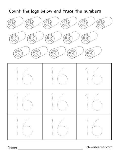 16 number recognition worksheets for preschool 16 best