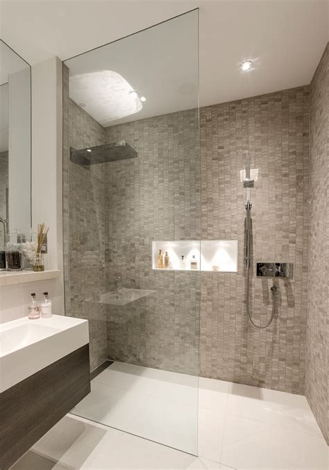 Walk In Showers Designs Bathroom Contemporary With