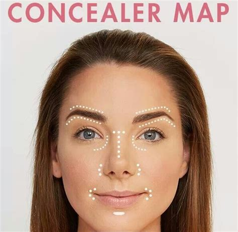 The  Ee  Best Ee   Places To Apply Concealer Perfectly