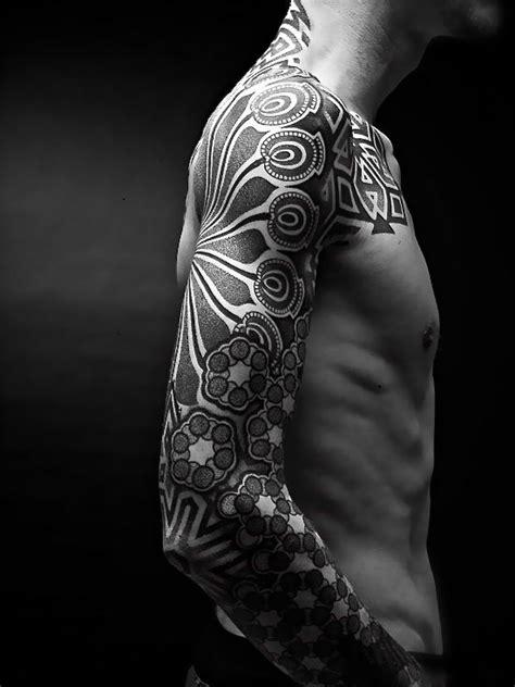 Owal ornaments men's arm tattoo - | TattooMagz › Tattoo Designs / Ink Works / Body Arts Gallery