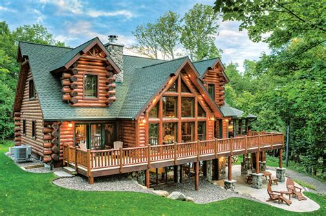 country style house floor plans the right wood species for your log home