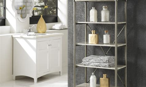 great ideas  bathroom shelves overstockcom