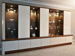 modern glass living room cupboards design With modern cupboard for living room