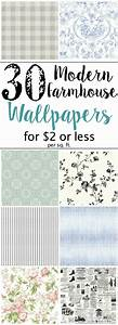 The Best Modern Farmhouse Wallpaper Designs on a Budget ...