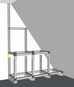 Couper Rail Placo : tutoriel comment fabriquer une biblioth que ~ Melissatoandfro.com Idées de Décoration