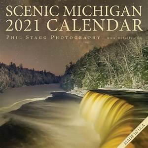 2021, Scenic, Michigan, Calendar