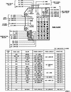 32 1993 Dodge Dakota Fuse Box Diagram