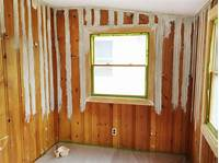 how to paint paneling Painting wood paneling: Brushes, rollers and beer | Rather Square