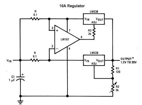 Adjustable Power Supply Circuits