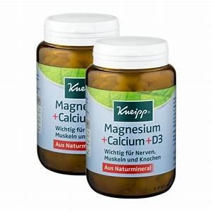 Vitamin D Dosierung Berechnen : kneipp magnesium calcium d3 im doppelpack bei nu3 kaufen ~ Themetempest.com Abrechnung
