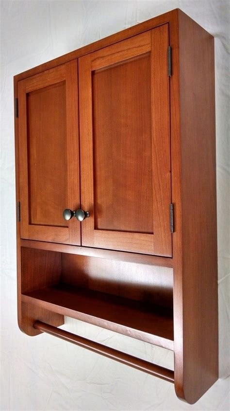 Hand Crafted Cherry Hanging Bathroom Cabinet By Woodlands. Kitchen Cabinet Doors B&q. Price Kitchen Cabinets Online. Built Kitchen Cabinets. Sliding Doors For Kitchen Cabinets