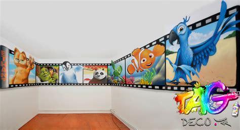 style de chambre ado tag graffiti décoration montpellier nîmes avignon