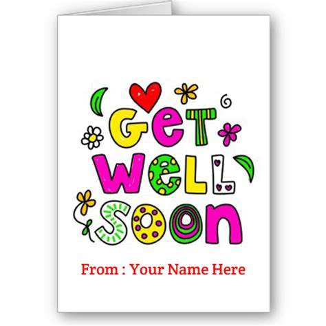 I found the most serious get well card i could find because there's nothing funny about being sick. what to write on a get well card
