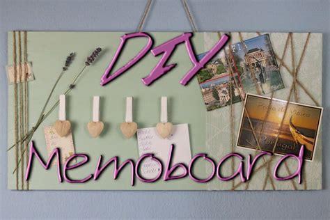 Zimmer Dekorieren Ideen Selbermachen by Memoboard Selber Machen Diy Deko Ideen F 252 R Zu Hause