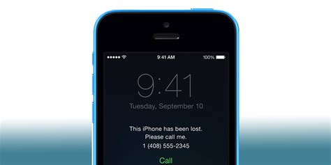 lost mode on iphone activate lost mode when iphone is stolen or lost