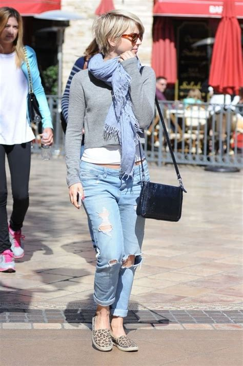 Julianne Hough - Booty in Jeans, Out in Los Angeles ...