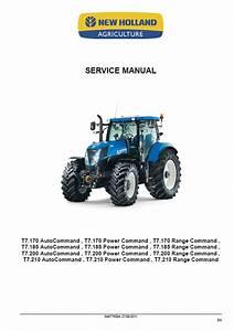 New Holland T7 Series Tractors Service Manual Pdf