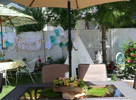 Fun Tips On Throwing An Outdoor Baby Showermake It