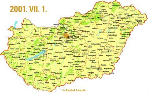 Mayer lászló és molnár andrás, szlovén fordítás: Zentai László: Magyarország térképe Magyar Elektronikus Könyvtár - MEK-00104