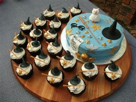 17 cupcake and cake recipes harry potter cake cupcakes would be awesome with the butterbeer cupcake recipe birthday