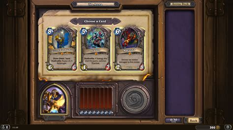 hearthpwn arena deck builder tirion fordring arena deck the arena hearthstone